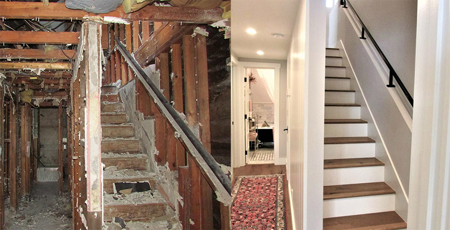 Silva Construction Restores Fire Damaged Master Bedroom